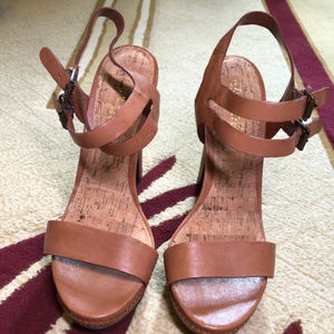 Lauren Ralph Lauren Sandals Brown / Tan Sandals